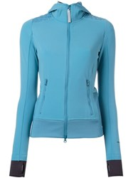 Adidas By Stella Mccartney 'Climaheat' Fleece Blue