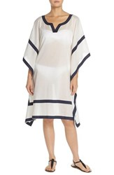 Women's Vince Camuto 'Shore Side' Cover Up Tunic Navy