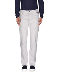 Camouflage Ar And J. Trousers Casual Trousers Men White