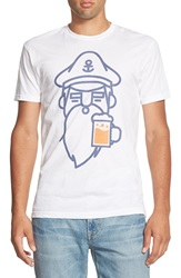 Threadless 'Bread And Beer' T Shirt White