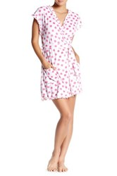 Betsey Johnson Polka Dot Ruffle Robe Supnk