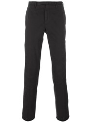 Incotex Skinny Trousers Brown