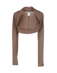 Toy G. Topwear Shrugs Women Khaki