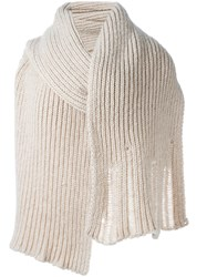 A.F.Vandevorst 'Theatre' Pullover Nude And Neutrals
