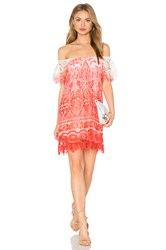 Sky Jabir Dress Coral