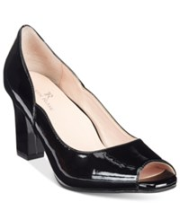 Taryn Rose Tr Francis Block Heel Pumps Women's Shoes Black