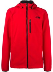 The North Face 'Motili' Hooded Jacket Red