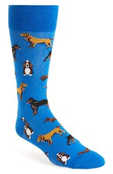 Hot Sox Men's 'Dogs' Socks