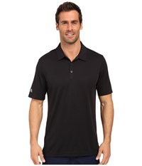 Adidas Climachill Solid Club Polo Black Men's Short Sleeve Pullover