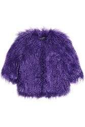 Shrimps Lily Cropped Faux Shearling Jacket