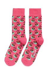 Happy Socks Lime Multi Colour