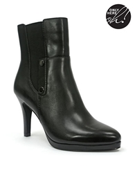 Tahari Gavin Leather Heeled Booties