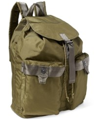 Polo Ralph Lauren Men's Military Nylon Backpack Olive Green