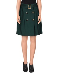 Carlo Pignatelli Outside Mini Skirts Emerald Green