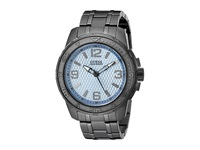 Guess U0681g3 Gunmetal Light Blue Sport Watches Gray