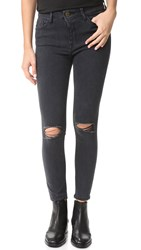 Dl1961 Farrow Cropped Instaslim High Rise Jeans Nimbus