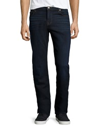 7 For All Mankind Standard Classic Straight Leg Jeans Midnight Indigo