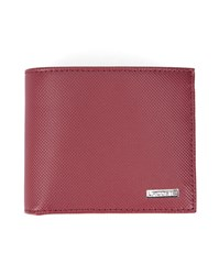 Lacoste Red Two Tone Pr Wallet
