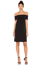 Velvet By Graham And Spencer Sorana Stretch Jersey Off The Shoulder Dress Black