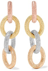 Carolina Bucci Huggy 18 Karat Gold Earrings Gold Rose Gold
