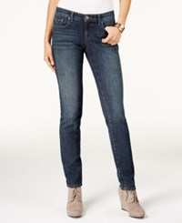 Styleandco. Style Co. Petite Studded Straight Leg Jeans Only At Macy's Blue Shadow