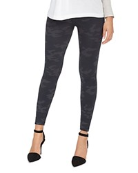 Spanx Printed Seamless Leggings Black Camo