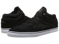Emerica The Westgate Mid Vulc Black White Men's Skate Shoes