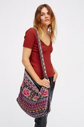 Johnny Was Womens Velvet Bloom Tote