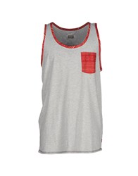 Altamont Topwear Vests Men Light Grey