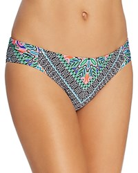 Laundry By Shelli Segal Bohemian Hipster Bikini Bottom Multi