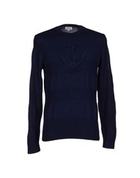 Faconnable Knitwear Jumpers Men Dark Blue
