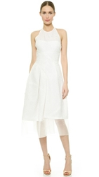 J. Mendel Fanny Halter Neck Dress Pristine