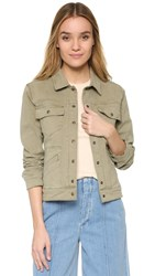 Anine Bing Jean Jacket Military