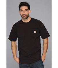 Carhartt Workwear Pocket S S Tee Tall Black Men's T Shirt