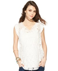 Daniel Rainn Maternity Crochet Tunic