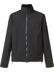 Canada Goose Cropped Funnel Neck Jacket Black