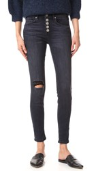 Mcguire Newton Skinny Jeans With Exposed Button Fly Elson