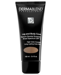 Dermablend Leg And Body Cover 3.4 Oz Bronze