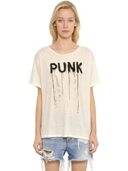R 13 Punk Boy Cotton Jersey T Shirt