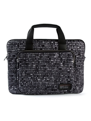 Marc By Marc Jacobs 'Ultimate' Printed Briefcase Black