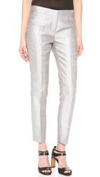 Cnc Costume National Cropped Pant Silver