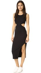 Lna Union Dress Black