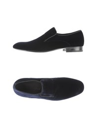 Giorgio Armani Footwear Moccasins Men Dark Blue