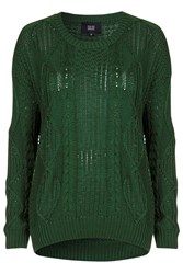 Timeless Green Jumper By Goldie