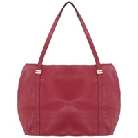 Miss Selfridge Slouchy Shopper Bag Raspberry