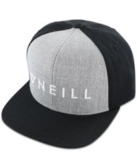O'neill Men's Yambao Snapback Embroidered Logo Hat Black W G