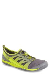 Men's Helly Hansen 'Aquapace 2' Quick Dry Sneaker Mid Grey Charcoal Lime