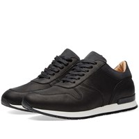 Wings Horns Wings Horns Leather Runners Black