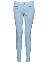 French Connection Lily Denim Super Skinny Jeans Clear Mirage