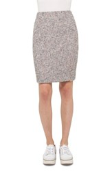 Akris Punto Women's Stretch Tweed Pencil Skirt
